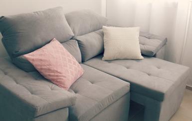 Nosso sofá...