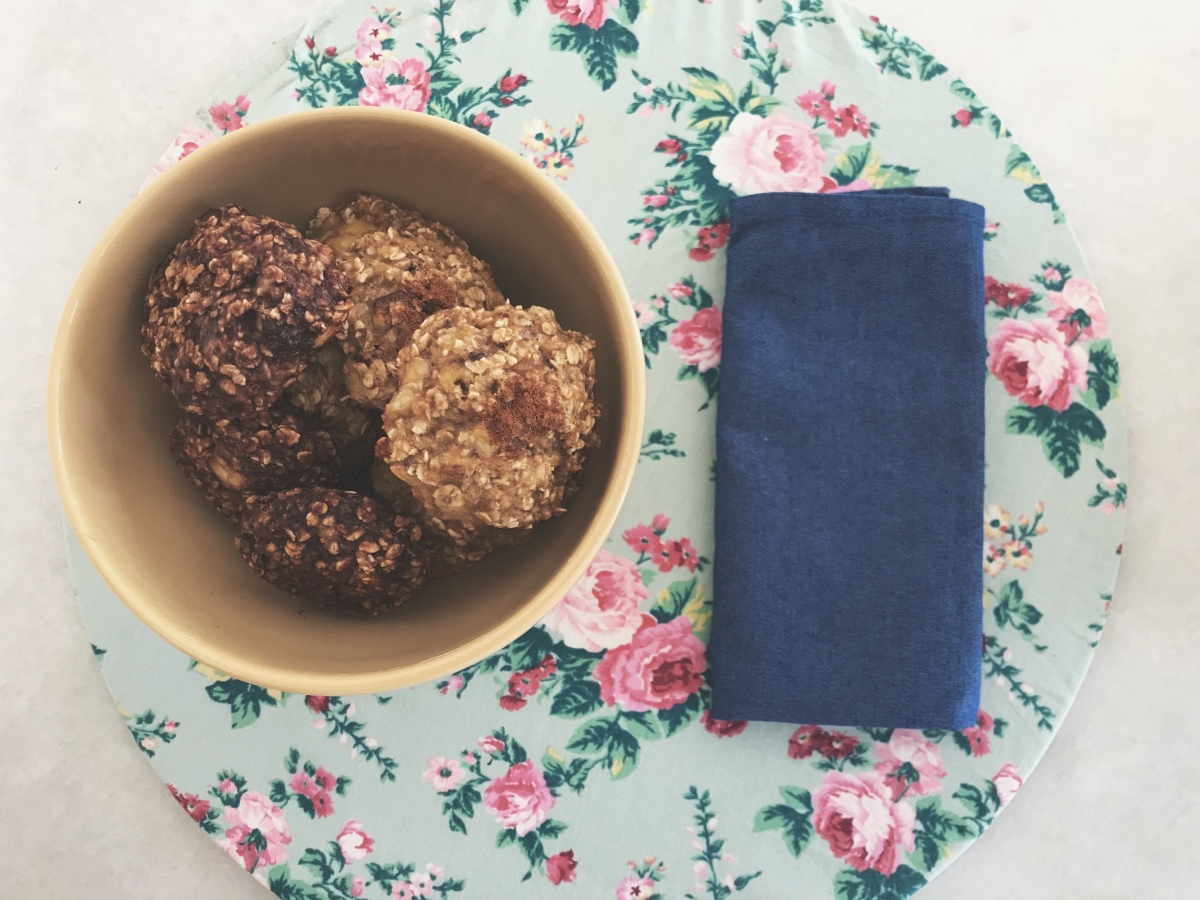 Receitinha: Cookie Saudável (2 Ingredientes)